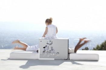 Sillon Kube, un mueble moderno y practico para el jardin
