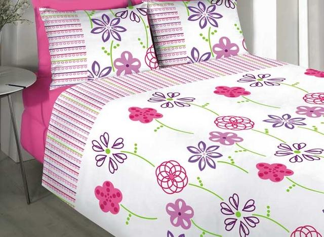 Textiles con estampados floreados en primavera - verano 3