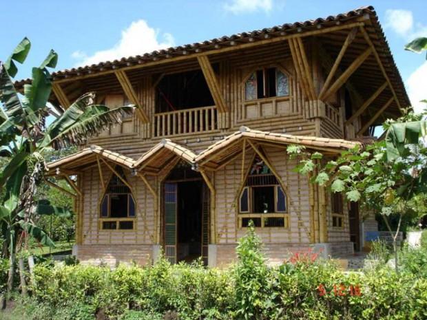 Casas de bamb - Casa ecologicas prefabricadas ...