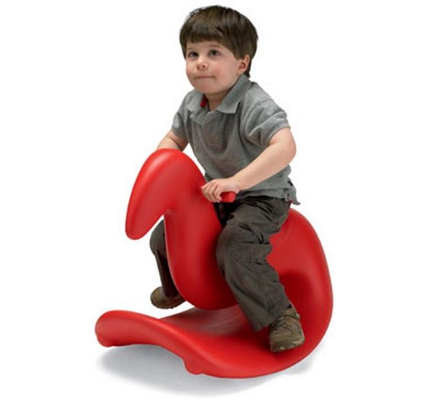 Caballitos balancines modernos para el dormitorio de los niños 4
