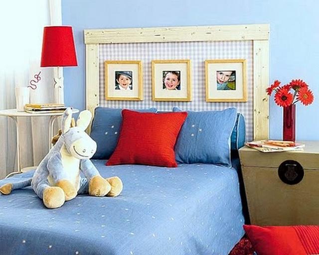 Cabeceros de cama de estilo infantil - Decorar cabeceros de cama ...