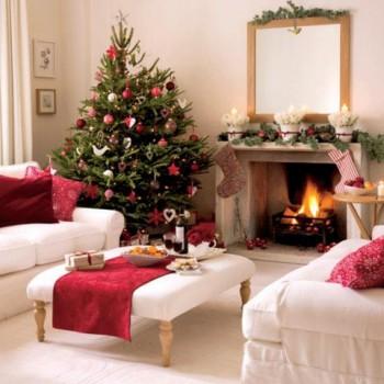 Consejos e ideas para decorar con un arbol de Navidad natural