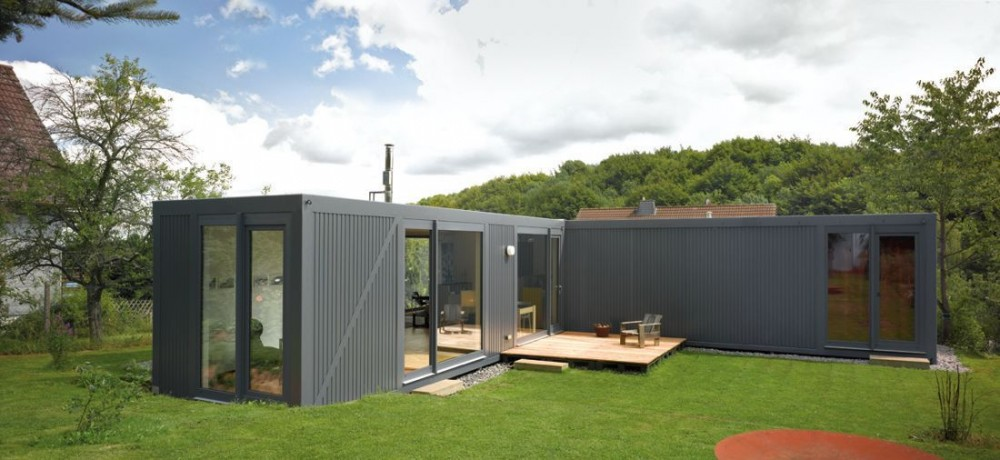 Viviendas de container arquitectura moderna for Container habitable a vendre