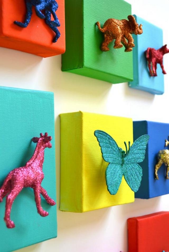 Decoracion de dormitorios infantiles tematica animales 3