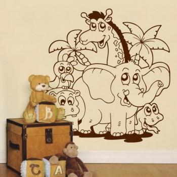 Decoracion de dormitorios infantiles tematica animales