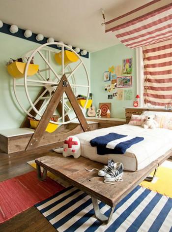 Decorar dormitorio infantil temática circo