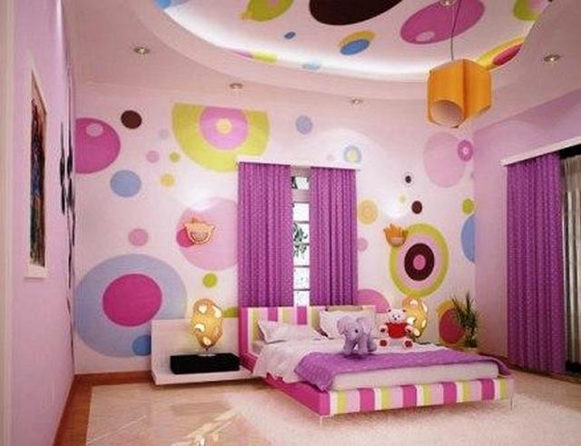 Decorar techo de habitacion de niños 2