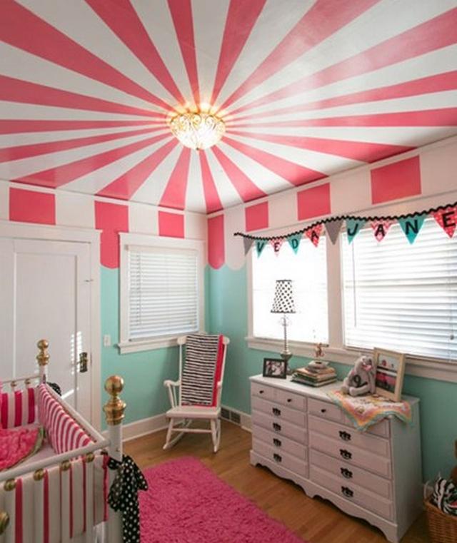 Decorar techo de habitacion de niños 3