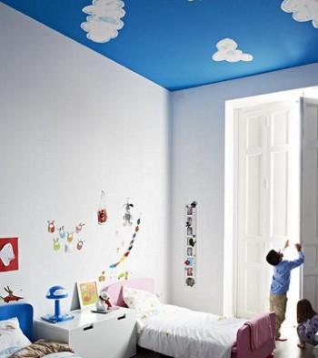 Decorar techo de habitaci n de ni os - Como pintar un dormitorio infantil ...