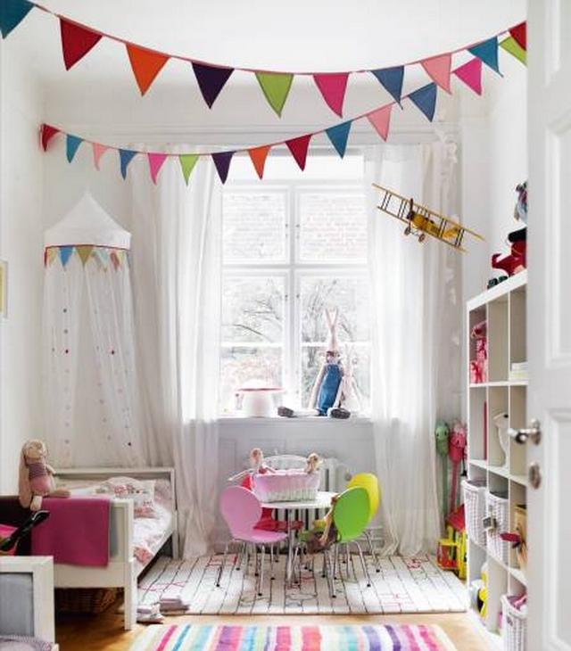 Decorar techo de habitacion de niños 4