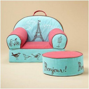 Dormitorio de niñas al estilo paris