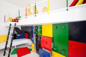 Dormitorio infantil al estilo LEGO