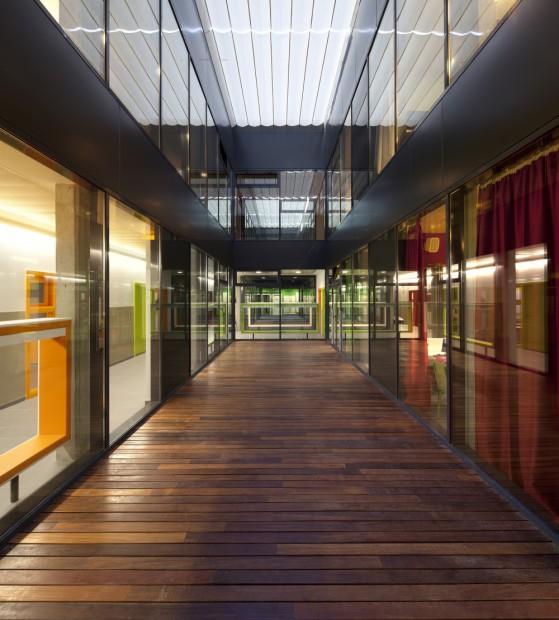 Escuela del Liceo Francés Saint Exupéry interiores