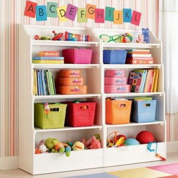 Estanterias Para Habitaciones Infantiles - Estanterias-para-dormitorios