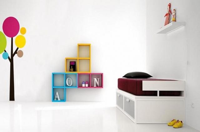 Estanterias para habitaciones infantiles 5