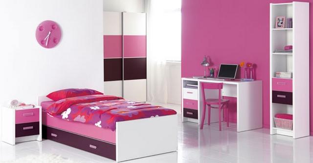 Habitaciones modernas para chicas entre 15 y 18 a os - Juegos para chicas de decoracion ...