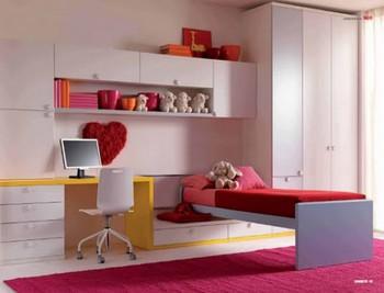 Habitaciones modernas para chicas entre 15 y 18 años