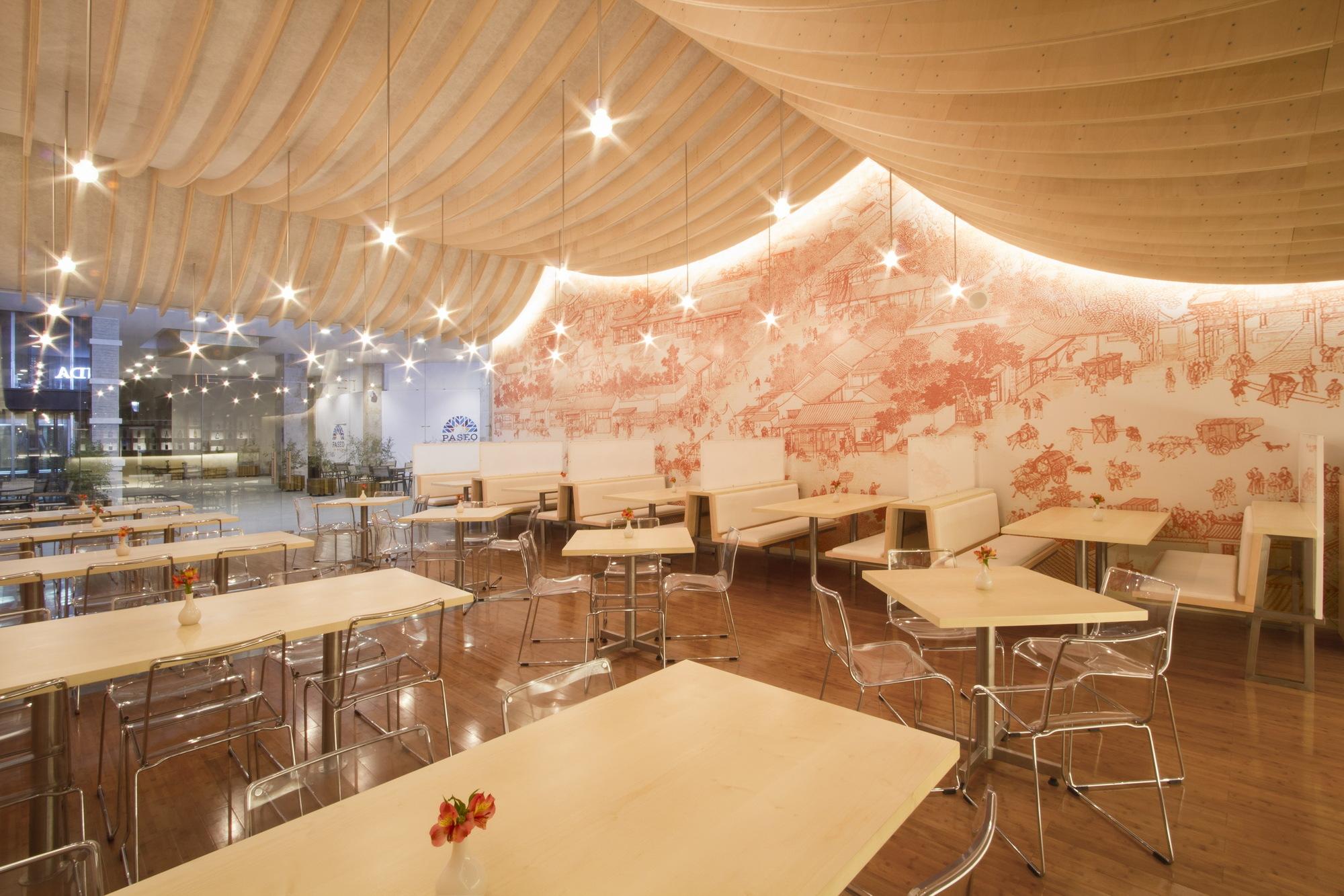 Dise o de interiores de restaurante for Estilo moderno diseno de interiores