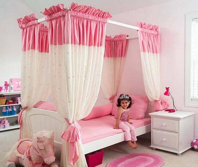 Ideas de decoración de habitaciones para niñas entre 2 y 5 años 2