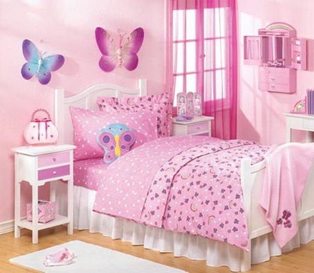 Ideas de decoración de habitaciones para niñas entre 2 y 5 años 4