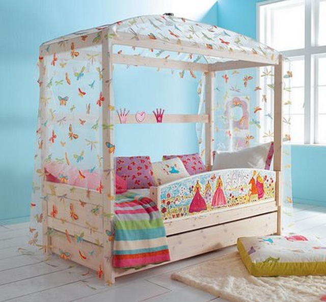 Ideas de decoración de habitaciones para niñas entre 2 y 5 años 5