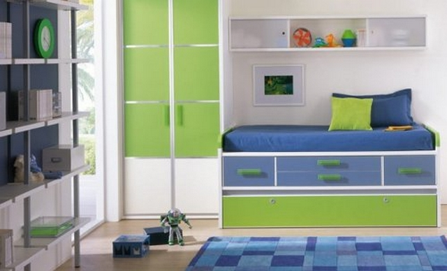 Ideas de decoraci n de habitaciones para ni os entre 11 y - Habitacion para 2 ninos ...