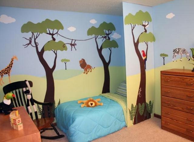 Ideas de decoración de habitaciones para niños entre 2 y 5 años 2