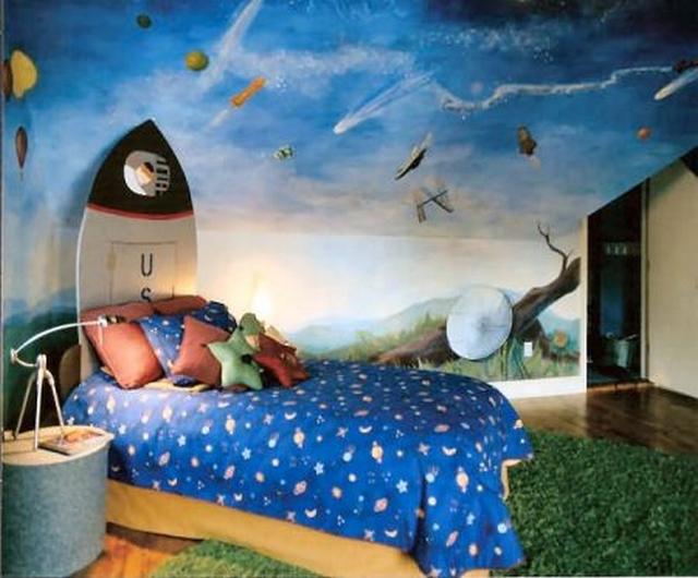 Ideas de decoraci n de habitaciones para ni os entre 8 y - Habitacion para 2 ninos ...