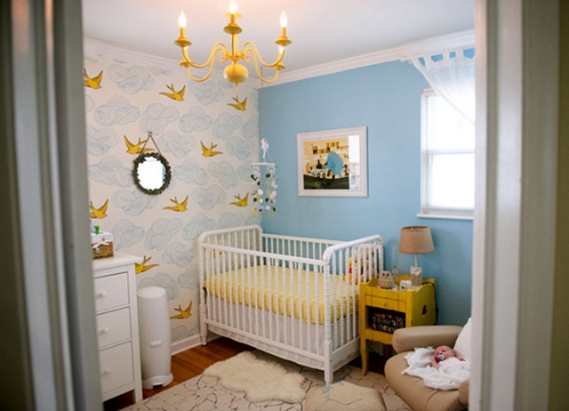 Ideas para decorar dormitorio de bebe unisex 3