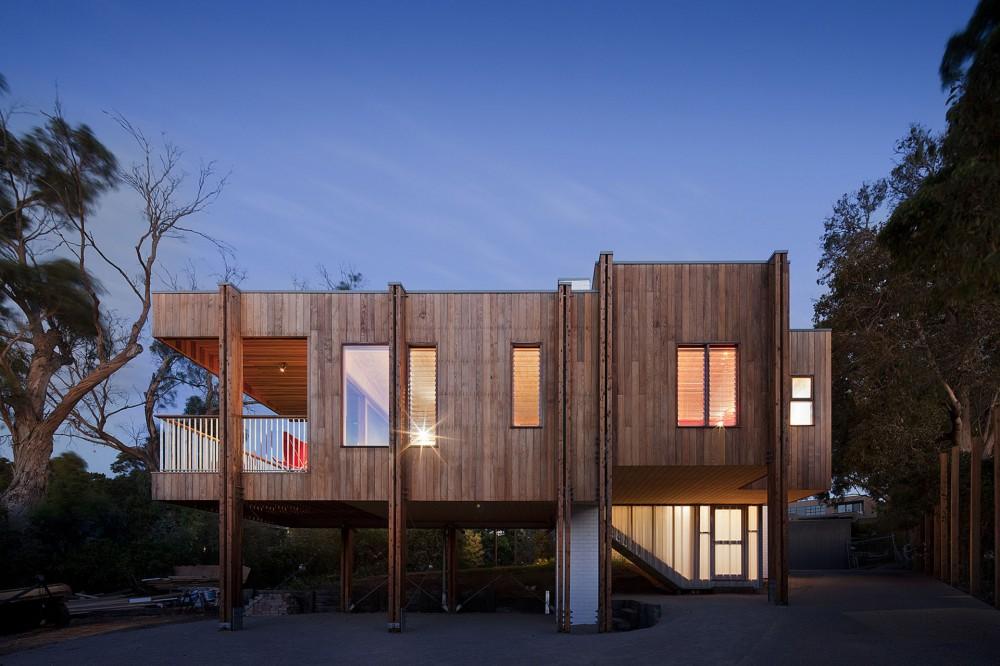 Casa en la Playa: Moderna Casa de Playa