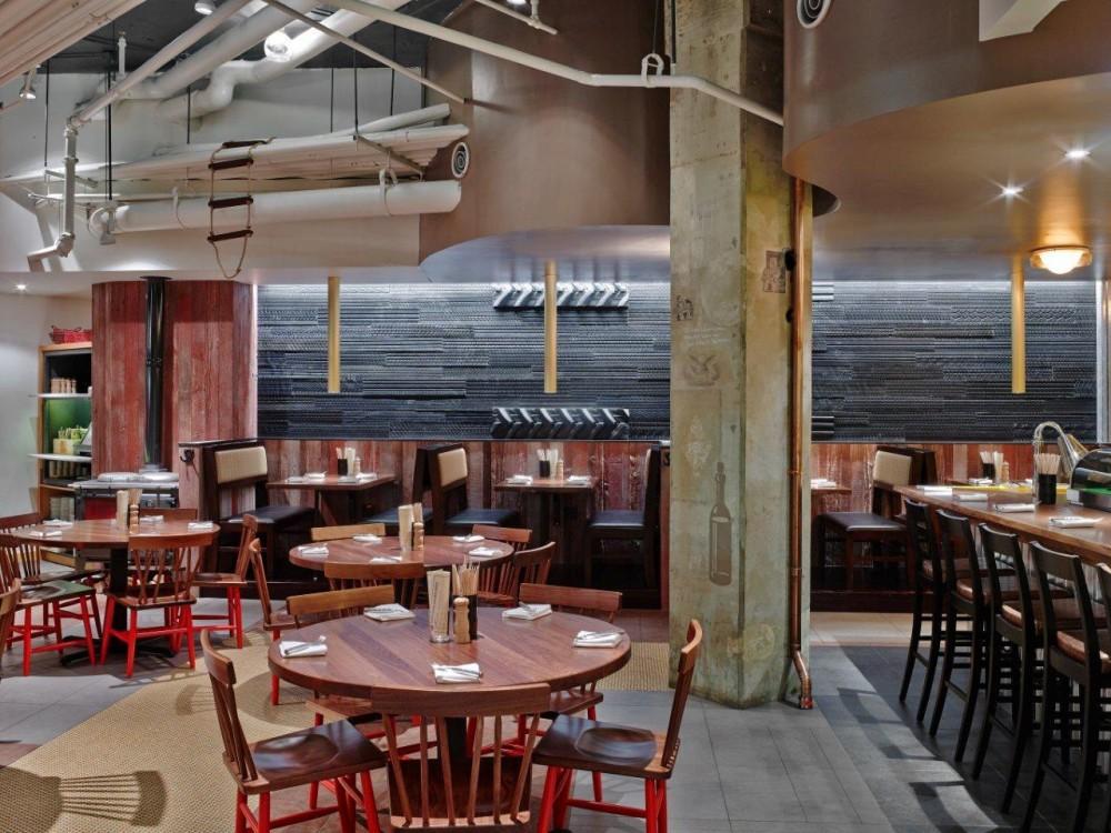 Farmers fishers bakers moderno restaurante - Interiores de restaurantes ...