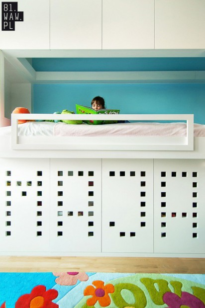 Moderno dormitorio infantil 2