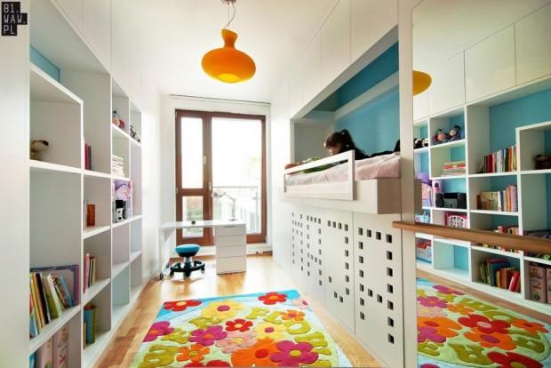 Moderno dormitorio infantil