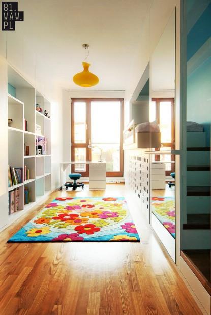 Moderno dormitorio infantil detalle
