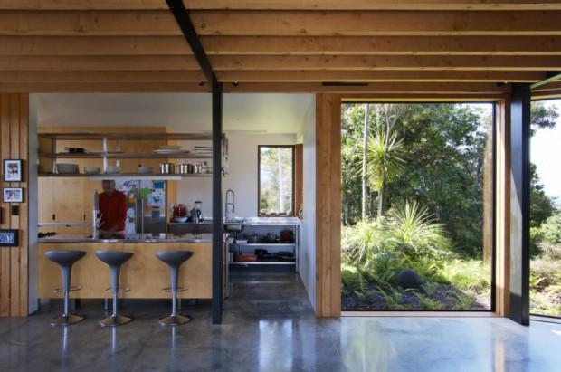 Ngunguru House interior