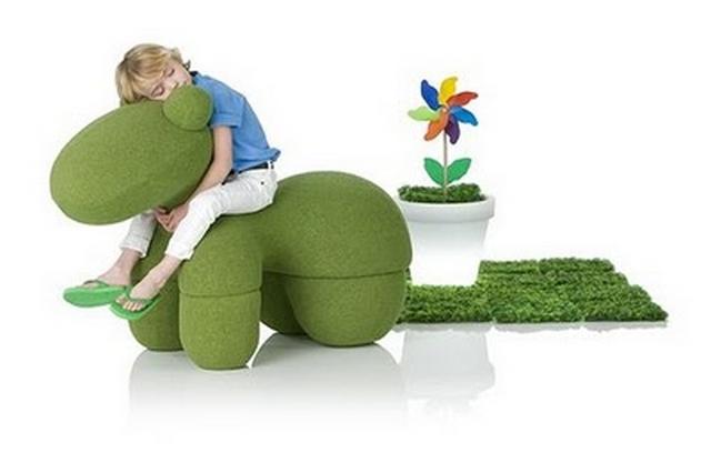 Puffs originales para habitaciones infantiles 2