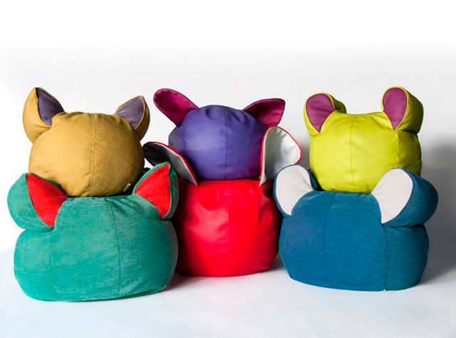 Puffs originales para habitaciones infantiles 3