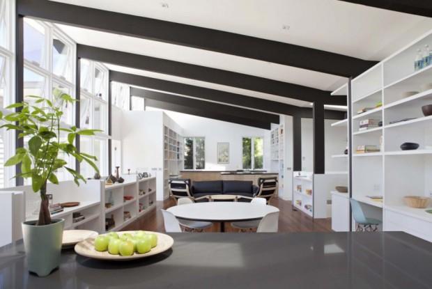 Atractiva casa familiar interiores