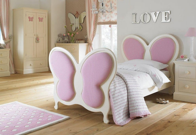 Camas originales para decorar dormitorios de niñas 3