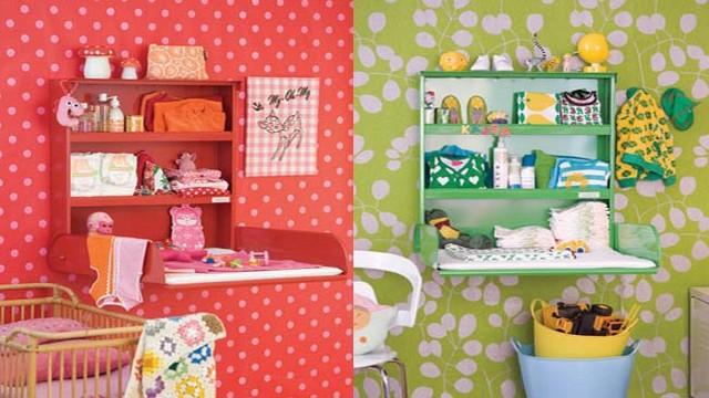 Cambiadores de bebes para espacios pequeños 3