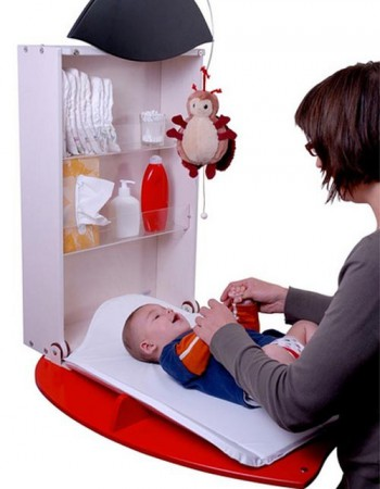 Cambiadores de bebes para espacios pequeños