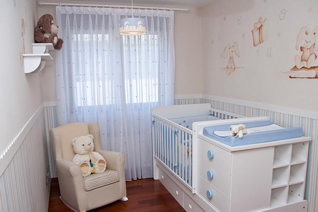 Decoracion de dormitorio de bebes tematica conejos 4