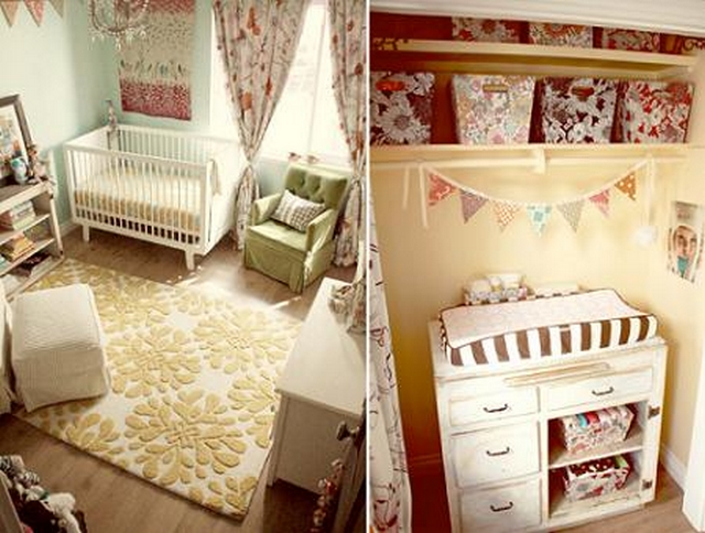 Decoracion de dormitorios infantil estilo vintage 2