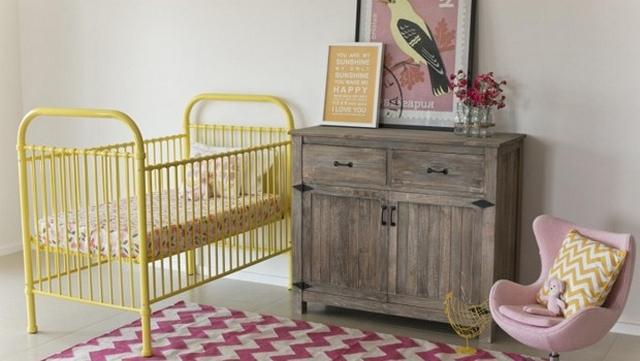 Decoracion de dormitorios infantil estilo vintage 3