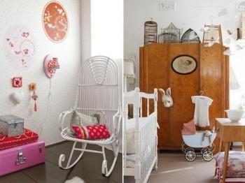 Decoracion de dormitorios infantil estilo vintage