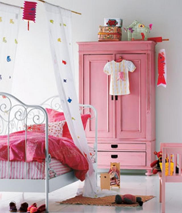Decoraci n de dormitorios infantiles estilo vintage - Cuartos de bano estilo vintage ...