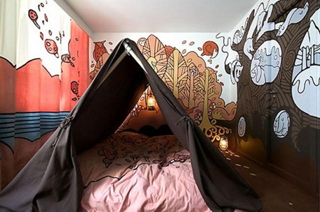 Decoracion de dormitorios que imitan entorno naturales 2