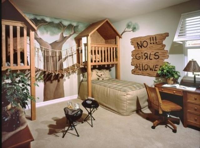 Decoracion de dormitorios que imitan entorno naturales 3