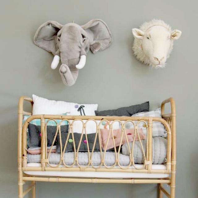 Decoracion dormitorio de bebe tematica oveja 2