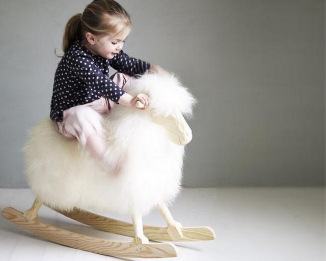 Decoracion dormitorio de bebe tematica oveja 3
